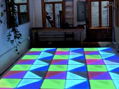 led dance floor 10x13 ft rental