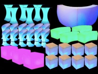 Cheap LED Furniture Rental