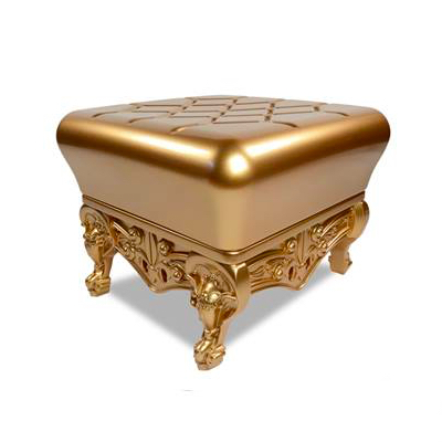 gold side table rental