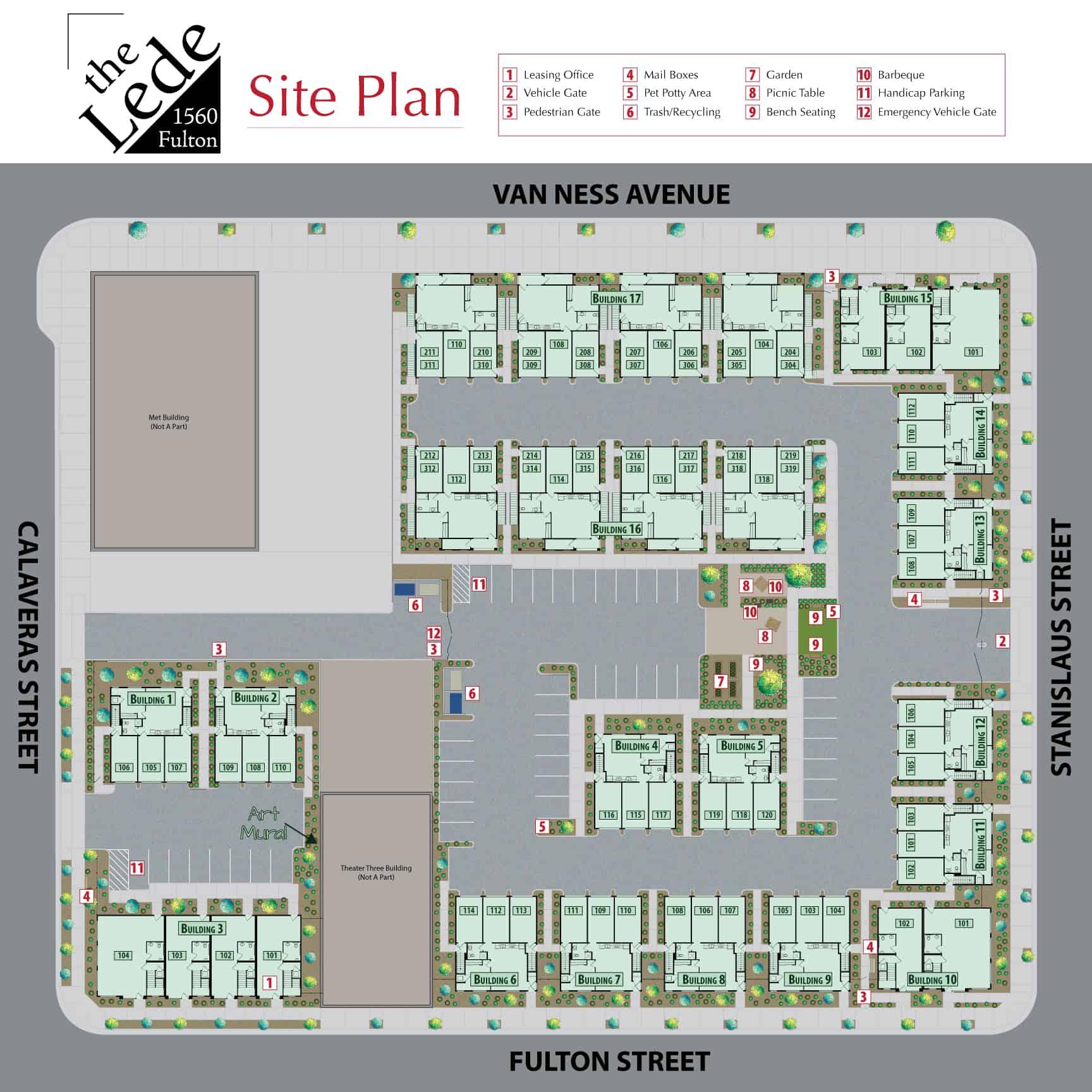 The Lede - Site Plan