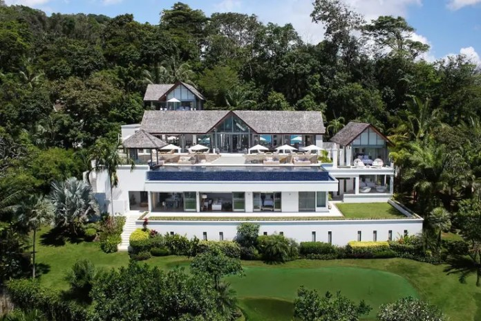 luxury holiday villa Villa Chan Grajang in Phuket