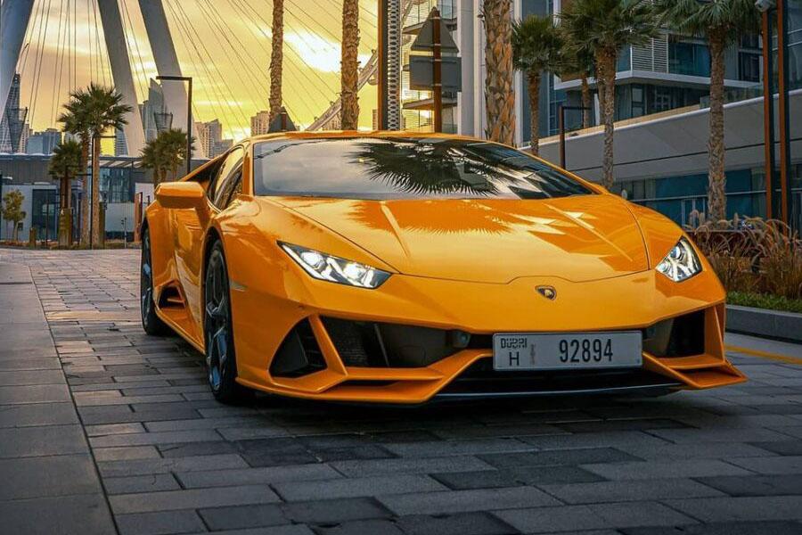 Lamborghini Huracan EVO Coupe