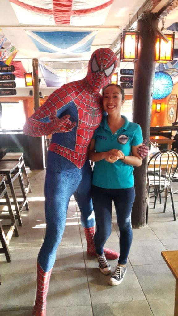 Spider Man in the Philippines