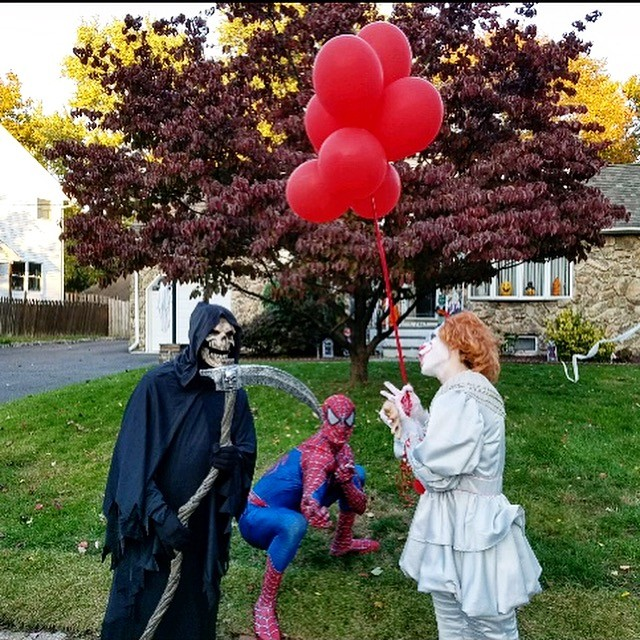 Reaper ,Spider Man and IT