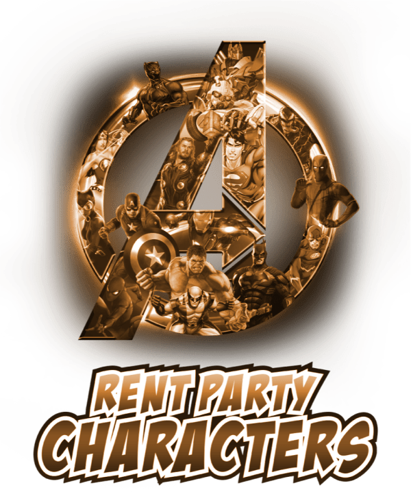 Bronze tint logo of Rent Party Characters