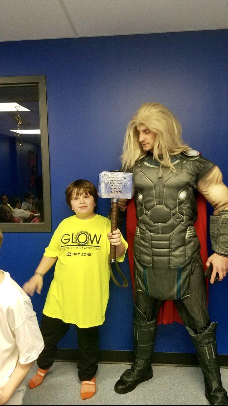 Thor Birthday party