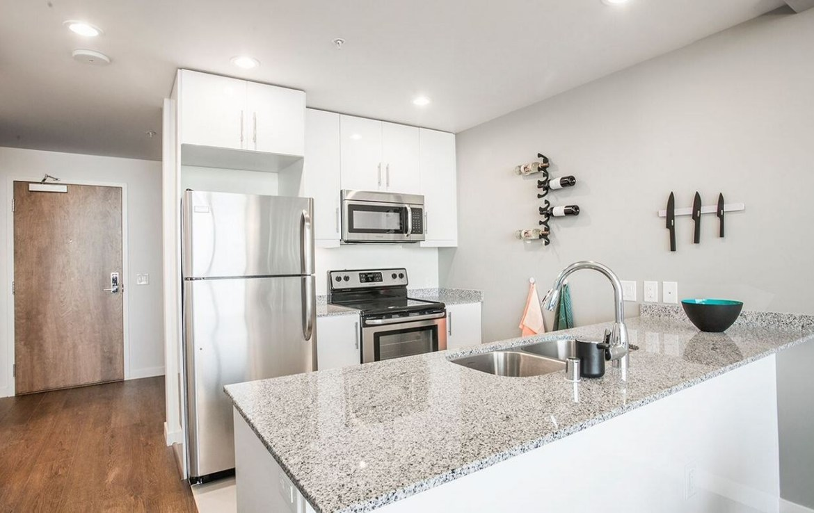 Pinnacle on the Park rentals kitchen images