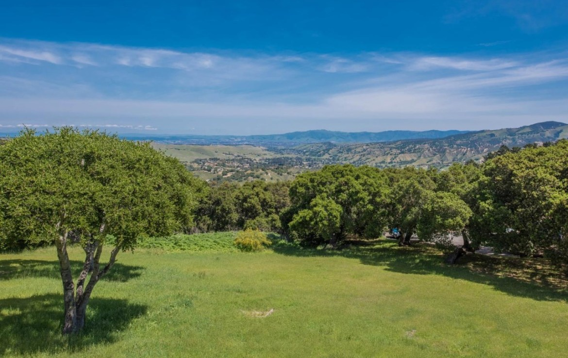 carmel valley rental home with canyon views
