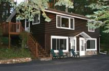EAGLE'S NEST and DRIFTWOOD MANOR is a two-story building with Eagle's Nest on the upper level and Driftwood Manor on the lower level. . Each unit sleeps up to 4 and has full kitchen.