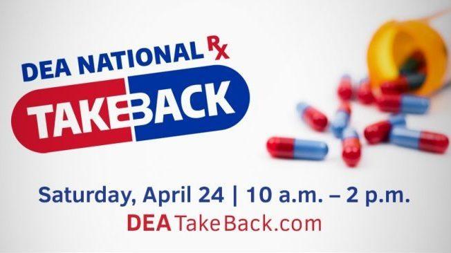 National Prescription Drug Take Back Day is April 24, 2021
