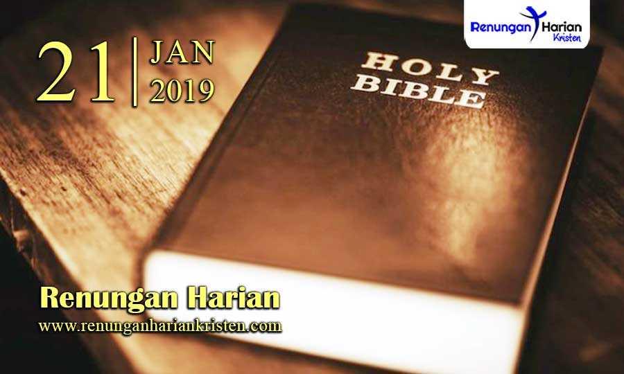 Renungan-Harian-21-Januari-2019
