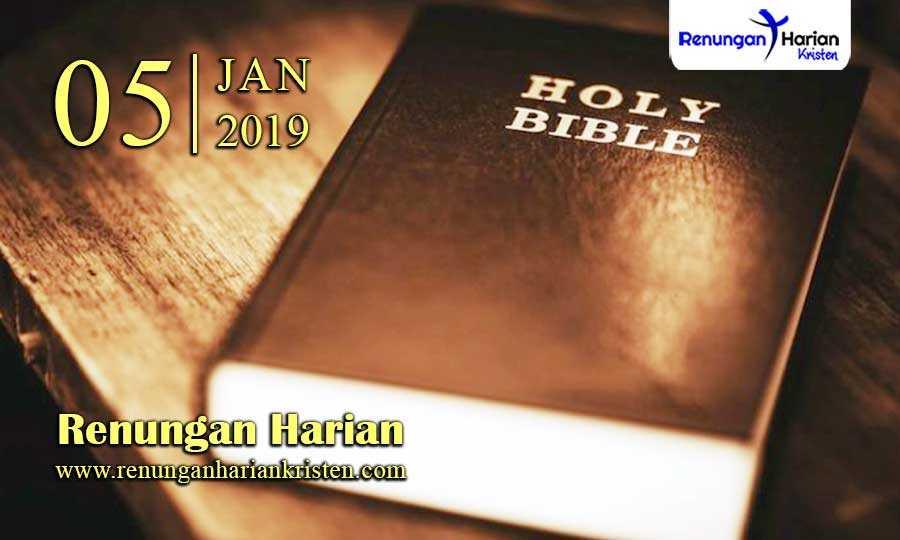 Renungan-Harian-5-Januari-2019
