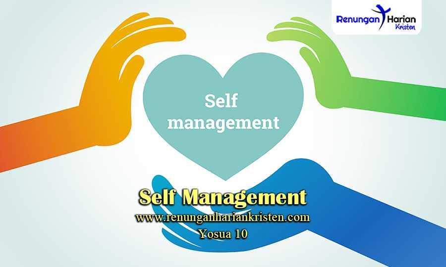 Renungan-Harian-Yosua-10-Self-Management