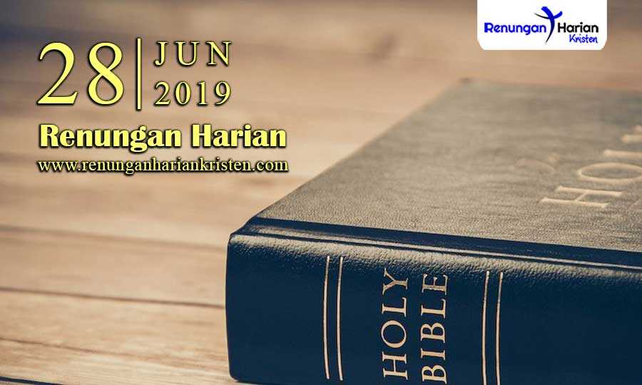 Renungan-Harian-28-Juni-2019