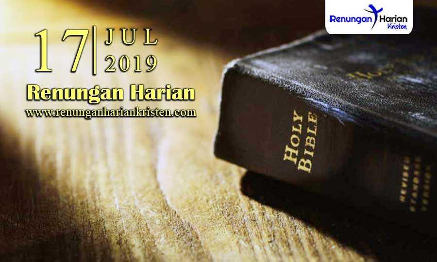 Renungan-Harian-17-Juli-2019