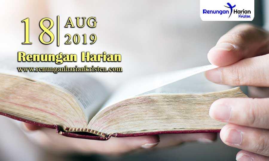 Renungan-Harian-18-Agustus-2019