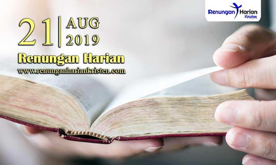 Renungan-Harian-21-Agustus-2019