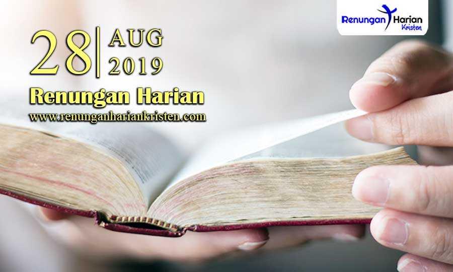 Renungan-Harian-28-Agustus-2019