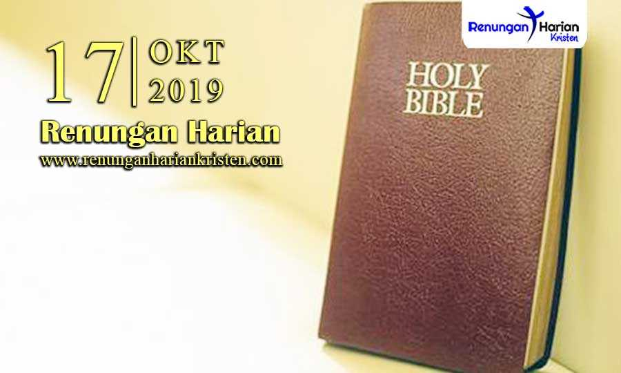 Renungan-Harian-17-Oktober-2019