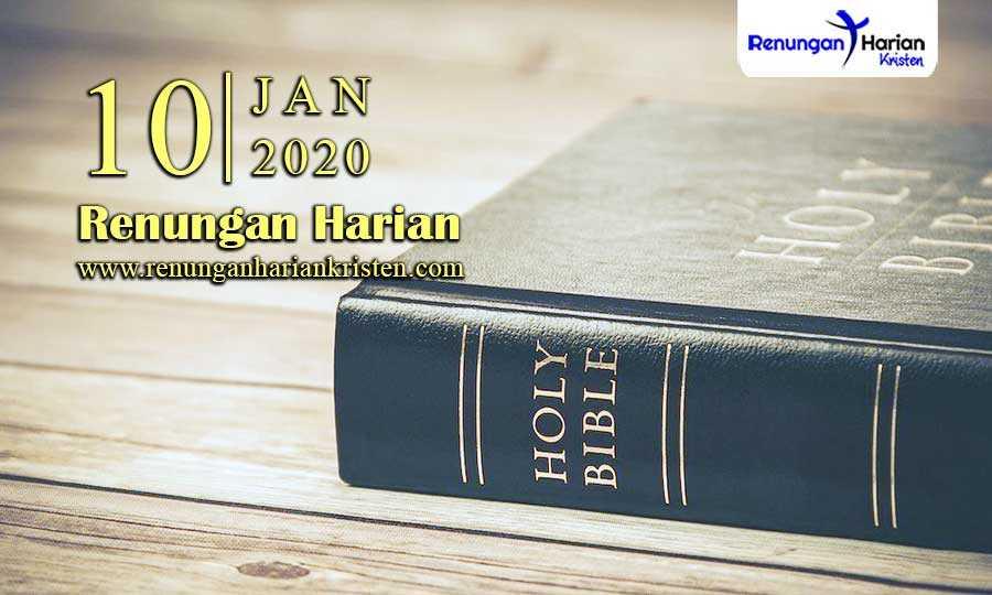 Renungan-Harian-10-Januari-2020