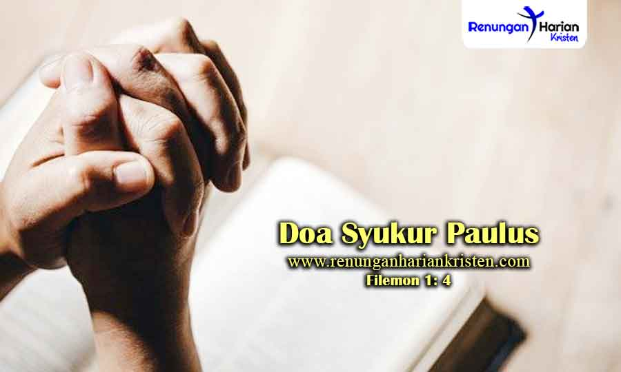 Renungan-Harian-Filemon-1-4-Doa-Syukur-Paulus