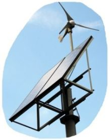 ReNuTec Solutions Solar Wind Small Turbine