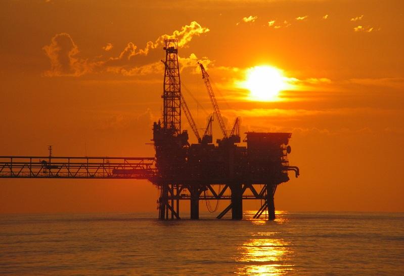 ReNuTec Solutions - offshore gas platform sunset