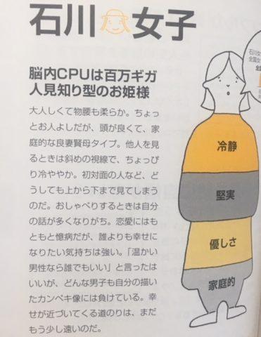 石川女性の県民性