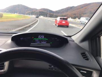 岡山市へ向かう車内