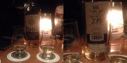夜間飛行のウイスキー