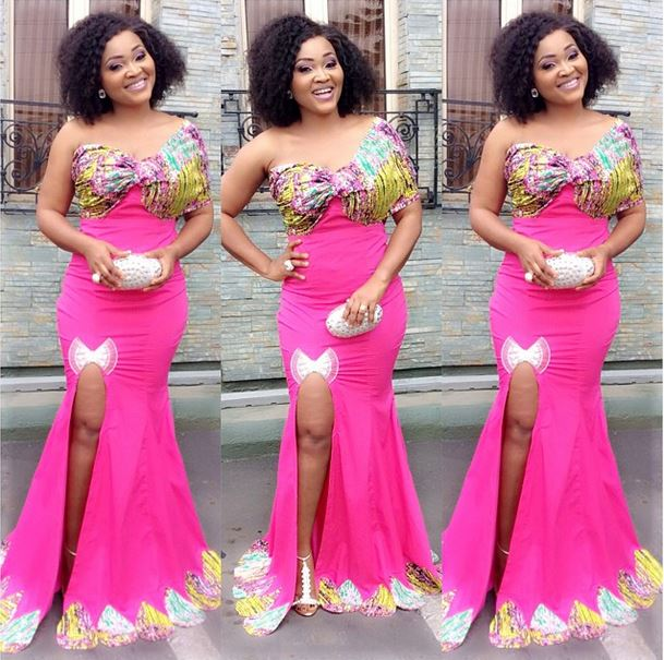 Modern Mercy Aigbe Fashion Style - Reny styles