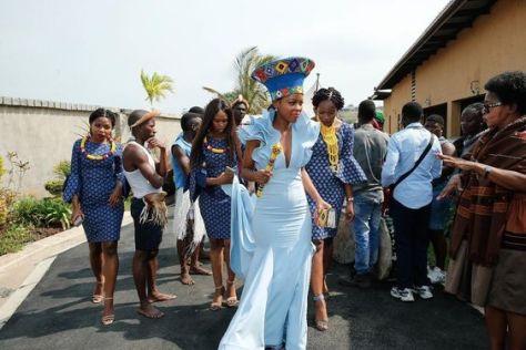 traditional zulu bride