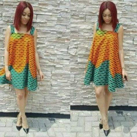 Modest Ankara Styles For The Sisi Ekos