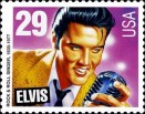 Elvis Presley stamp