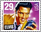 Elvis Presley stamp