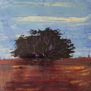 Purple Tree 12x12 1