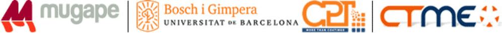 MUGAPE S.L., CPT (centro de investigación de la Universidad de Barcelona gestionado a través de la Fundació Bosch i Gimpera), Centro Tecnológico de Miranda de Ebro (CTME)