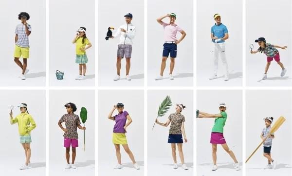 2021年春夏ジャックバニーのゴルフウェア