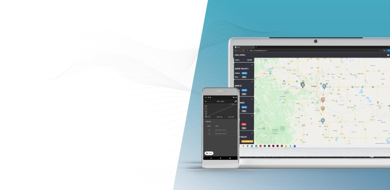 SCADADROID Portal Dashboard Application Live