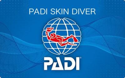 PADI スキン・ダイバー