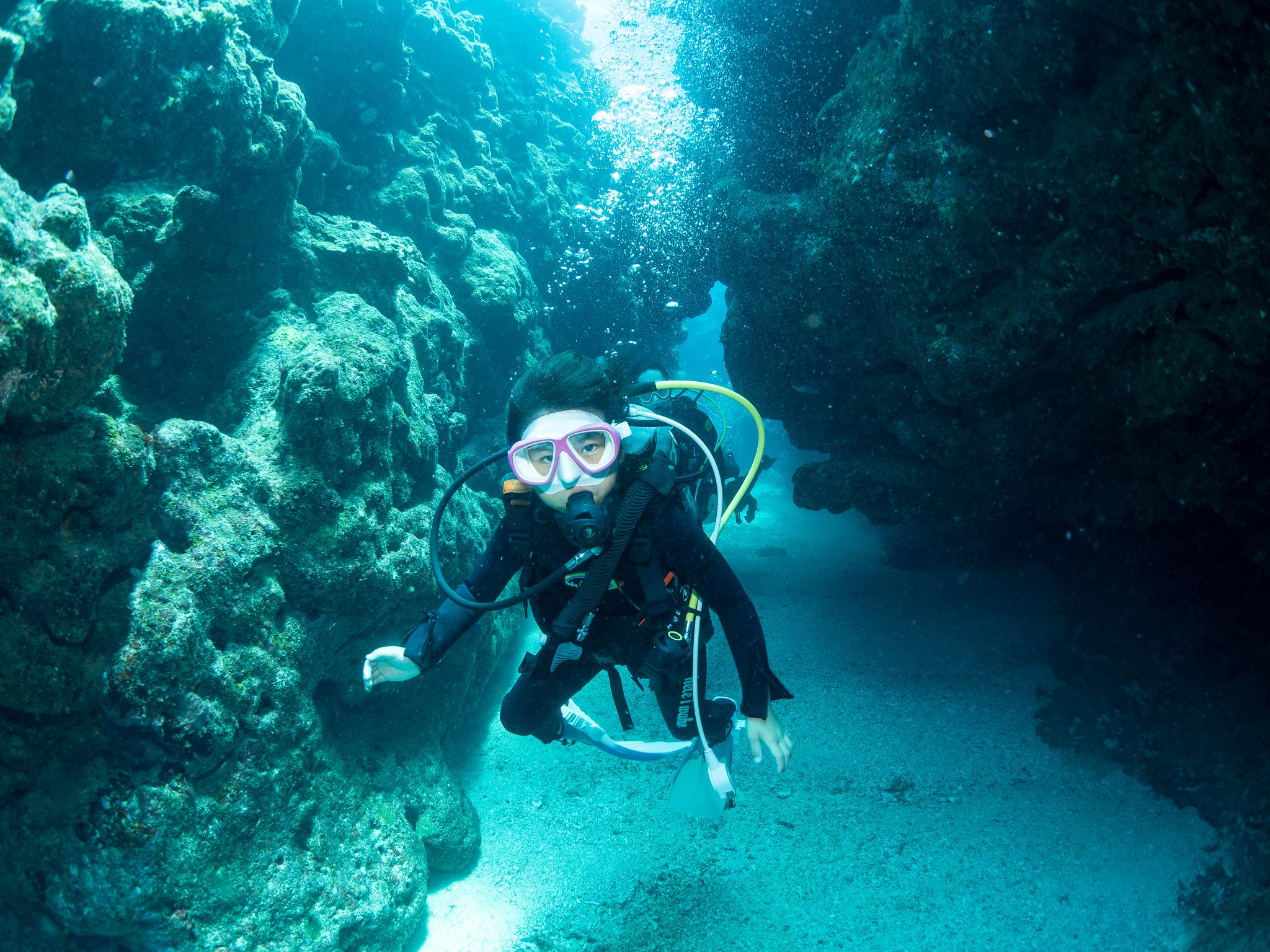 水納島 体験ダイビング