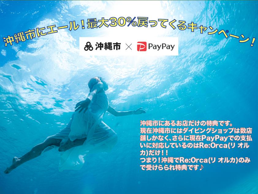 ダイビング PayPayキャンペーン