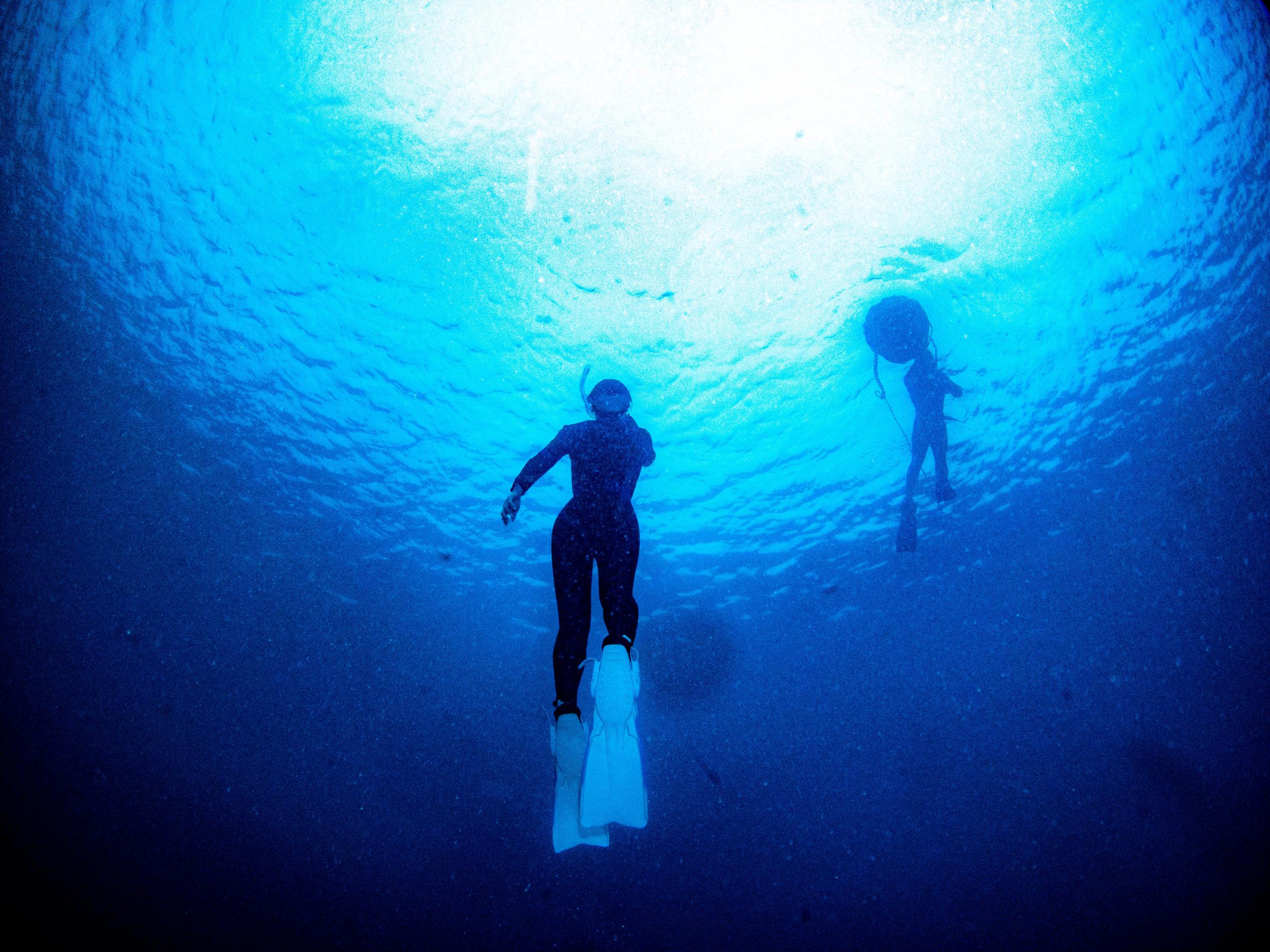 沖縄 スキンダイビング