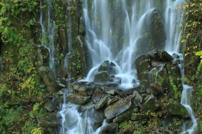 木島平幻の滝