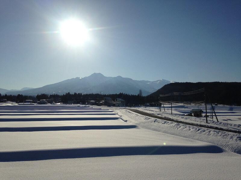 妙高(関山)の冬景色