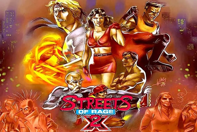 Streets of Rage 2X Free Download Torrent Repack-Games