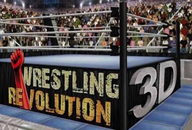 Wrestling Revolution 3D Repack-Games