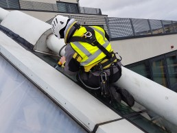 abseiling leak detection repair