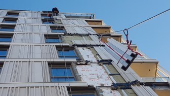 rope access cladding replacement