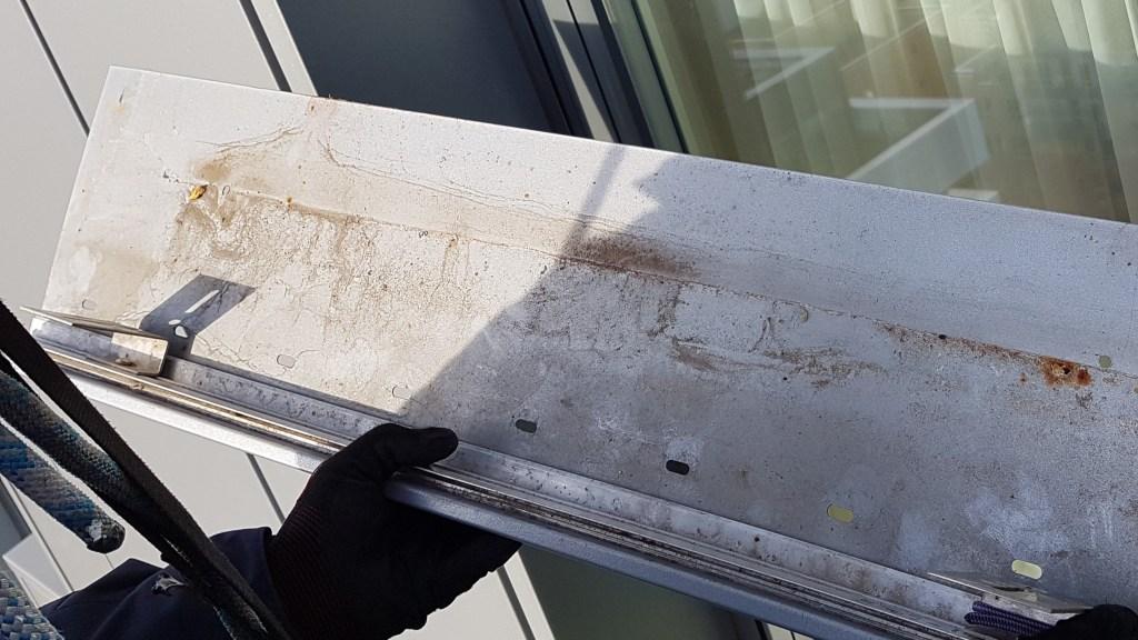 rope access leaking cladding repair